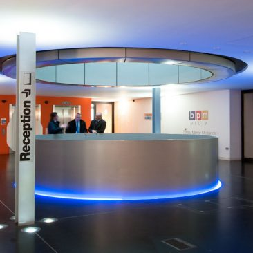Commercial Property Photography - Fort Dunlop Central Lobby